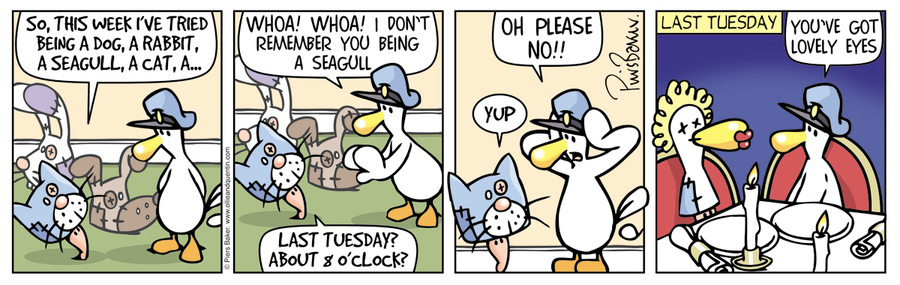 Ollie and Quentin for Mar 25, 2016 Comic Strip