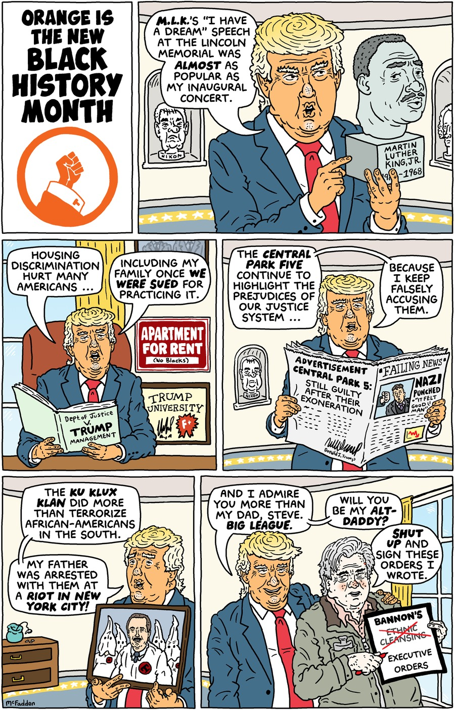 Brian McFadden Comic Strip for February 05, 2017