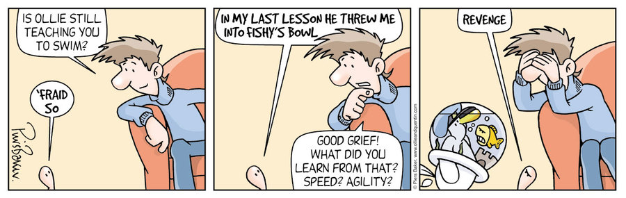 Ollie and Quentin Comic Strip for February 13, 2019