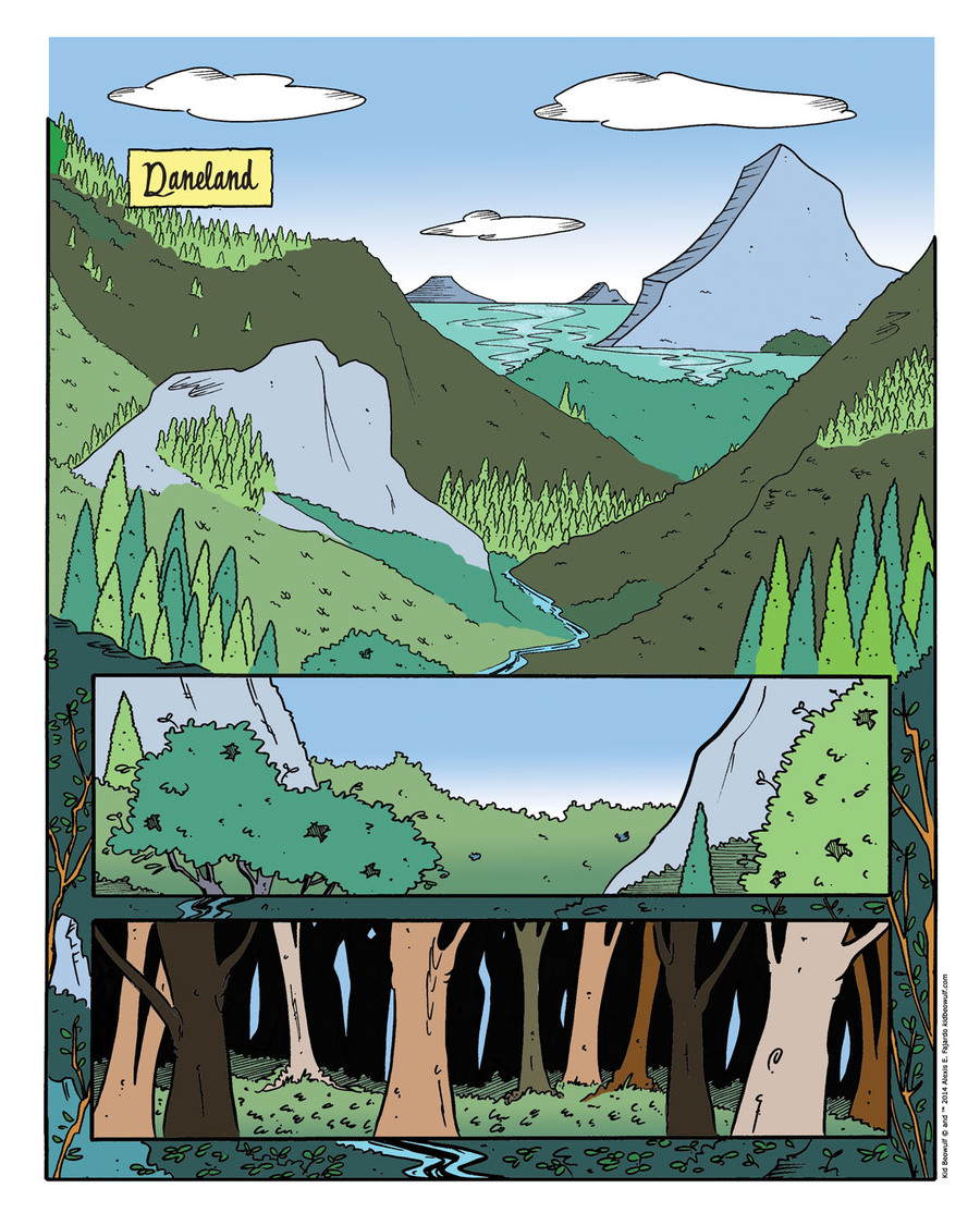 Kid Beowulf Comic Strip for July 09, 2014