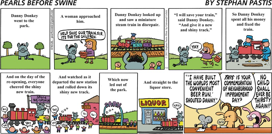 Pearls Before Swine for Jul 22, 2012 Comic Strip
