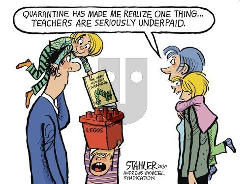 Jeff Stahler on Sunday March 22, 2020 Comic Strip