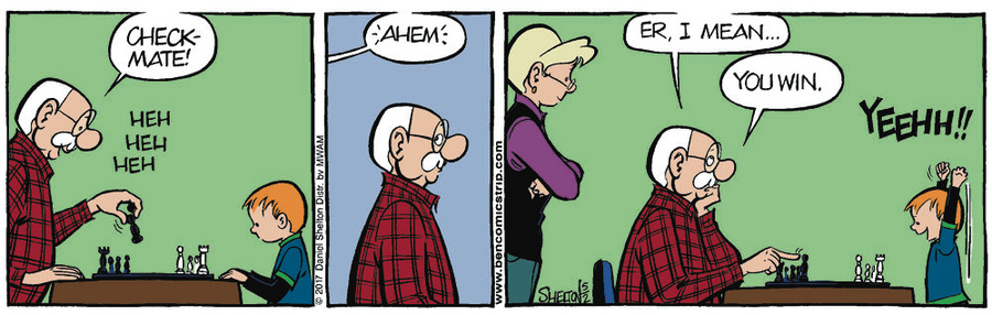 Ben for May 9, 2017 Comic Strip