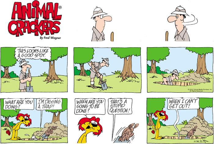 Animal Crackers for Dec 30, 2012 Comic Strip