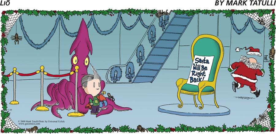 Lio for Dec 20, 2009 Comic Strip