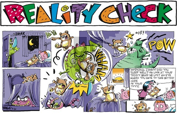 Reality Check on Sunday March 20, 2016 Comic Strip