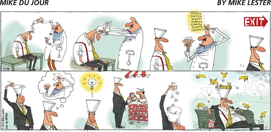 Mike du Jour for Nov 18, 2012 Comic Strip