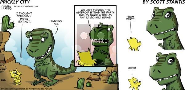 Prickly City - Sunday August 19, 2018 Comic Strip