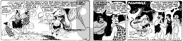 Alley Oop - Friday January 13, 1939 Comic Strip