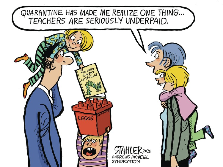 Jeff Stahler Comic Strip for March 22, 2020