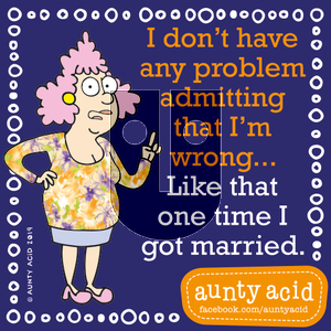 Aunty Acid on Wednesday September 11, 2019 Comic Strip