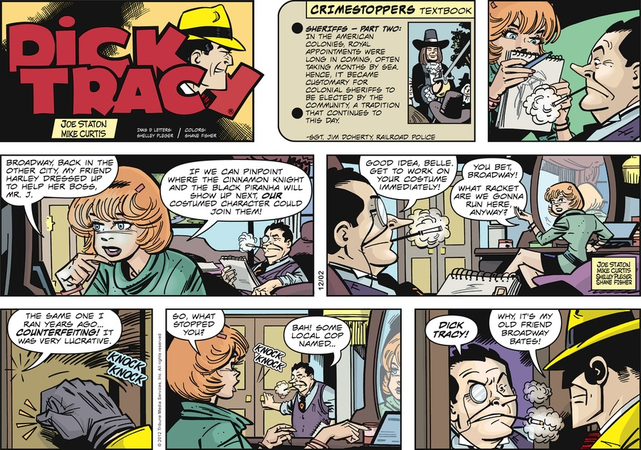 Dick Tracy for Dec 2, 2012 Comic Strip