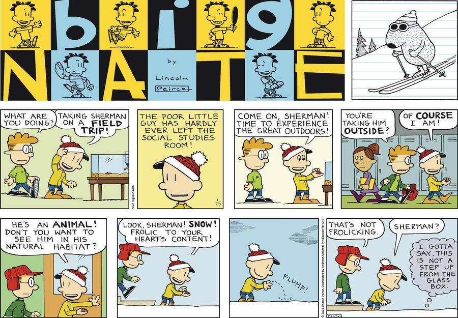 Big Nate Comic Strip for January 17, 2021