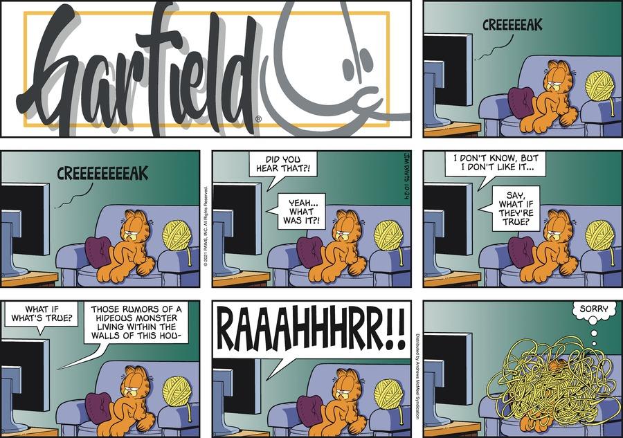 Garfield by Jim Davis on Sun, 24 Oct 2021