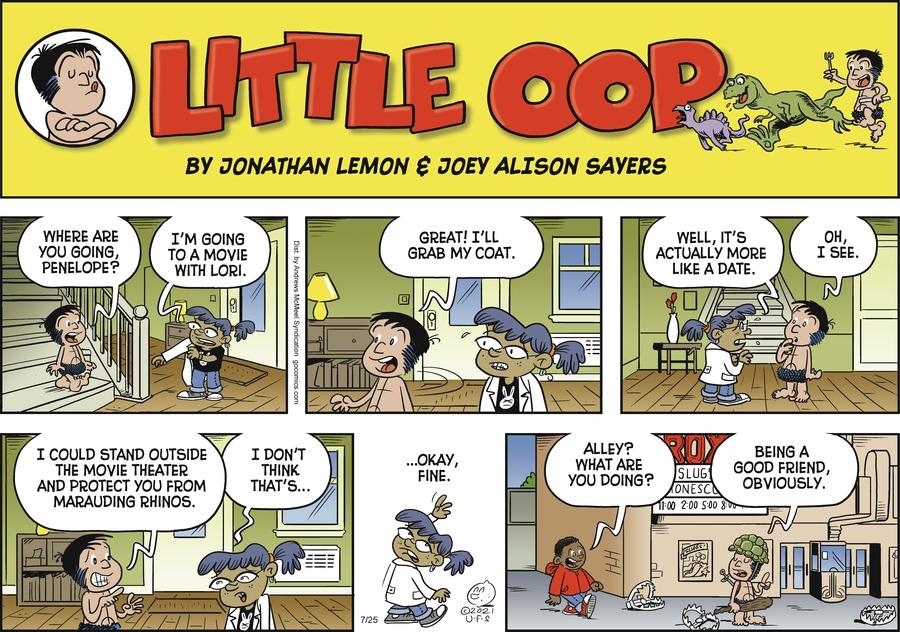 Alley Oop Comic Strip for July 25, 2021