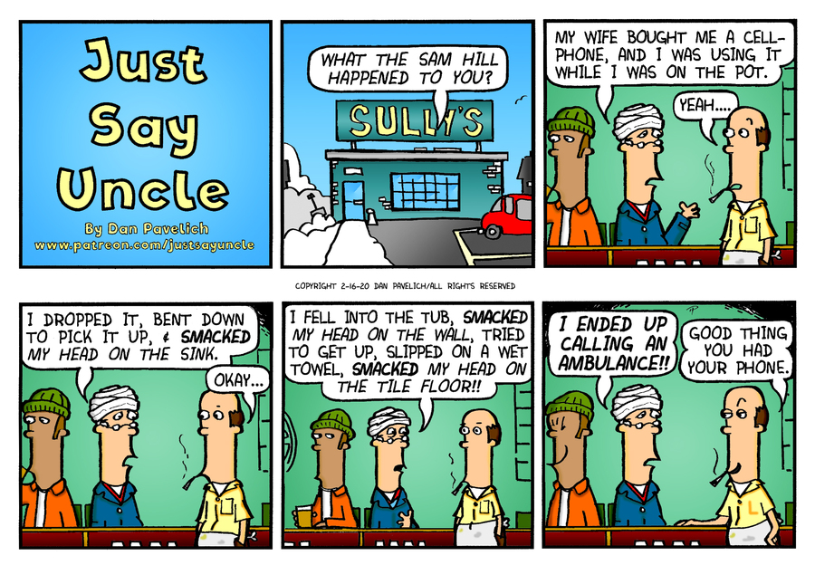 Just Say Uncle Comic Strip for February 16, 2020