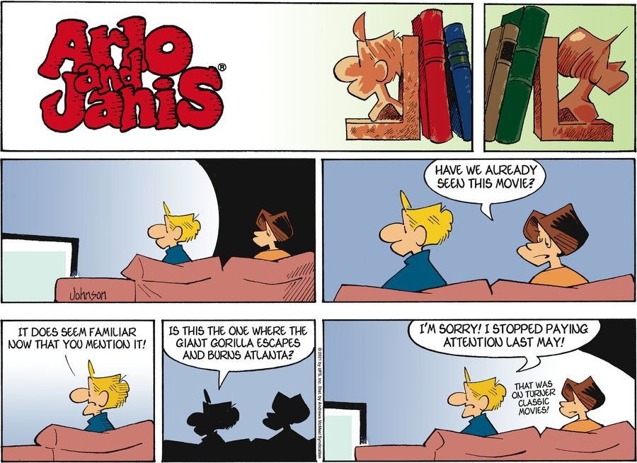 Arlo and Janis Comic Strip for March 07, 2021