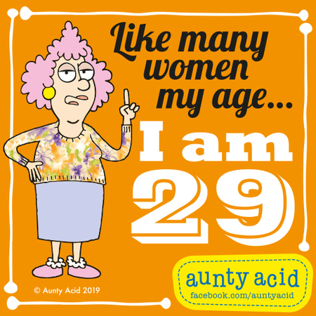 Aunty Acid by Ged Backland for May 07, 2019