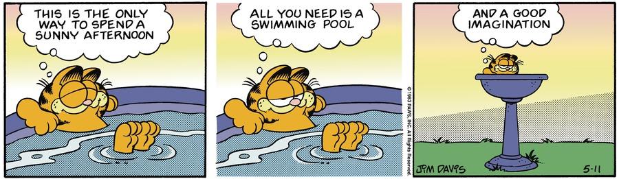 Garfield Classics Comic Strip for May 16, 2021
