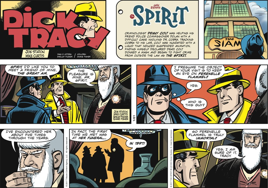 Dick Tracy Comic Strip for January 01, 2017