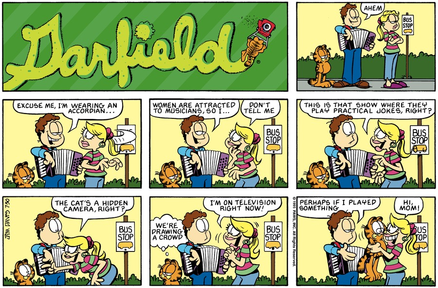 Garfield Comic Strip for July 30, 1995