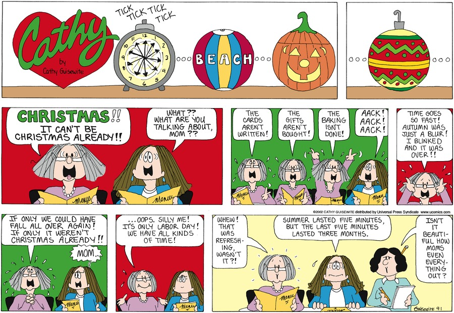 Cathy for Sep 1, 2002 Comic Strip