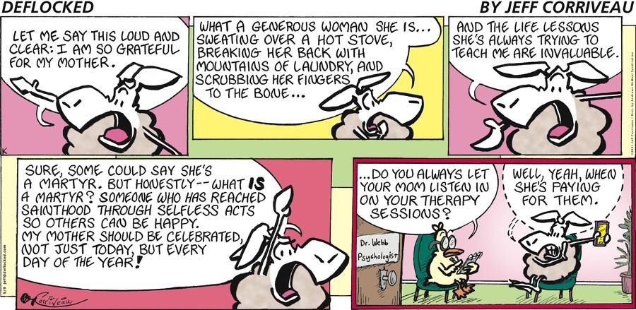 DeFlocked Comic Strip for May 09, 2021
