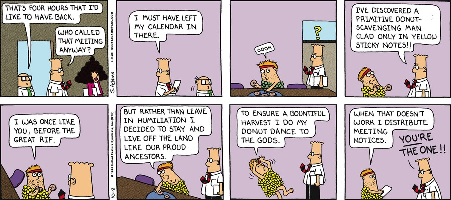 Dilbert Classics Comic Strip for September 08, 2019