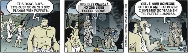 Alley Oop - Wednesday July 17, 2019 Comic Strip