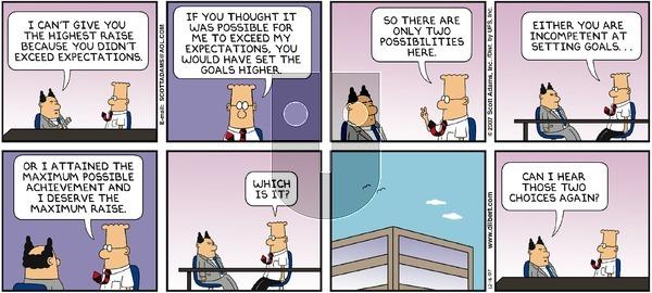 Dilbert - Sunday December 16, 2007 Comic Strip