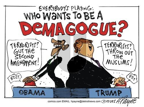 Henry Payne on Sunday December 13, 2015 Comic Strip