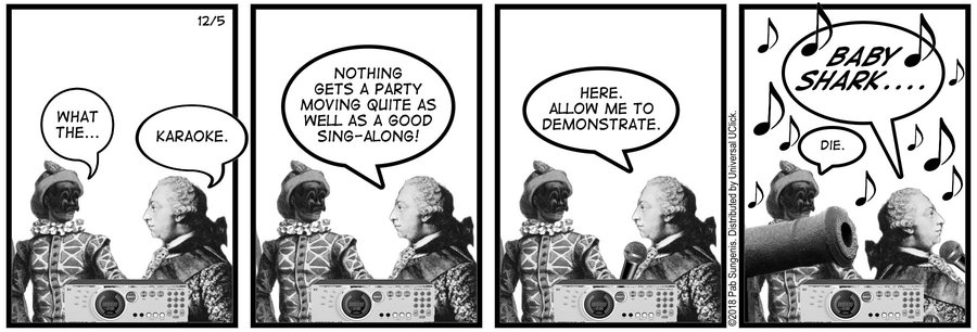 New Adventures of Queen Victoria Comic Strip for December 05, 2018