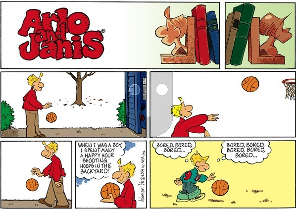 Arlo and Janis on Sunday December 5, 2004 Comic Strip