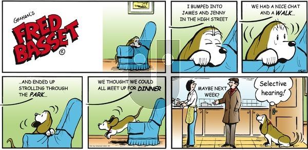 Fred Basset on Sunday June 2, 2013 Comic Strip