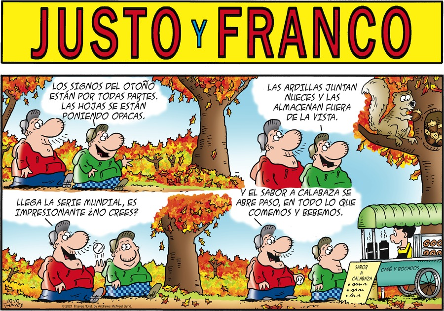 Justo y Franco by Thaves on Sun, 10 Oct 2021