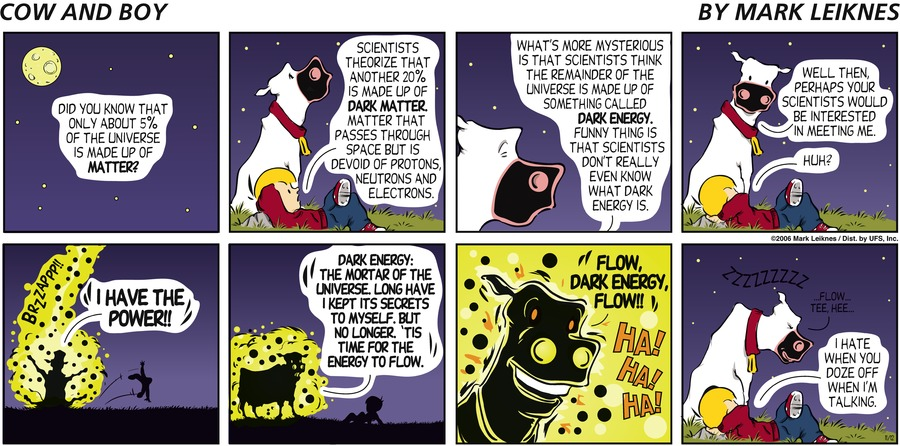 Cow and Boy Classics Comic Strip for November 12, 2006