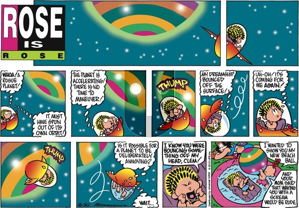 Rose is Rose on Sunday August 30, 2015 Comic Strip