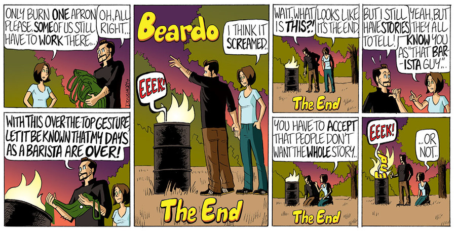 Beardo Comic Strip for November 24, 2019