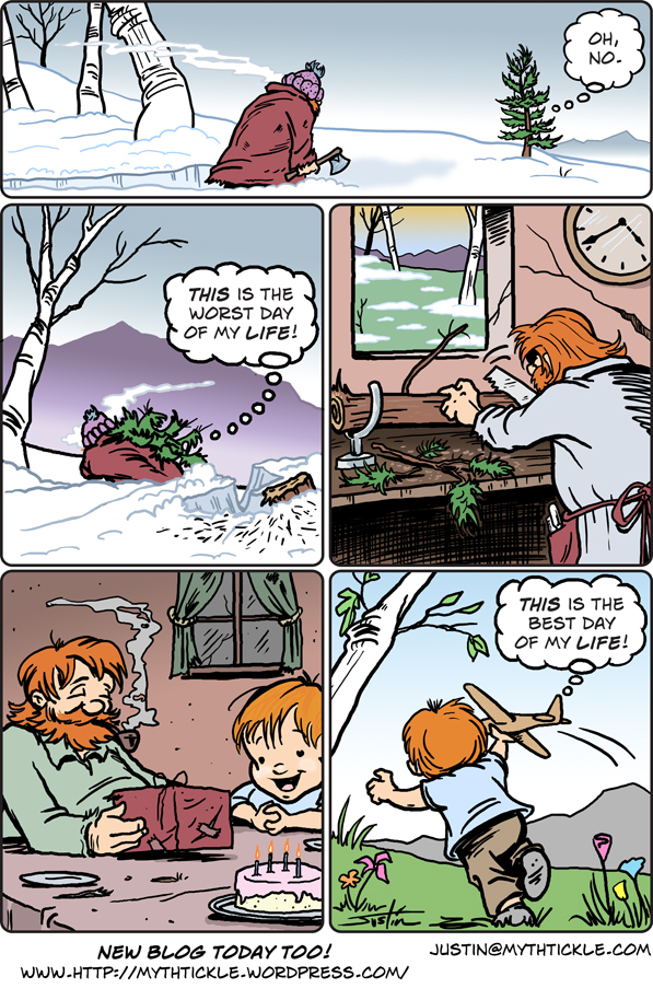 MythTickle for Feb 22, 2013 Comic Strip