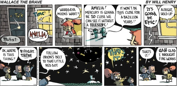 Wallace the Brave on Sunday February 24, 2019 Comic Strip