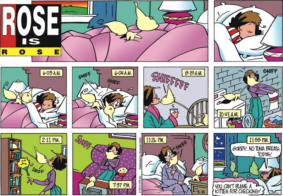 Rose is Rose Comic Strip for September 08, 2013