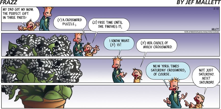 Frazz Comic Strip for May 13, 2018