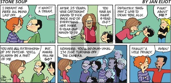 Stone Soup - Sunday June 21, 2020 Comic Strip