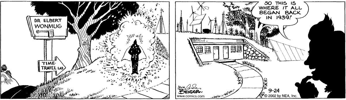Alley Oop for September 24, 2002 Comic Strip