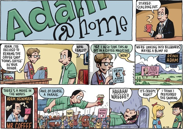 Adam@Home on Sunday August 18, 2019 Comic Strip