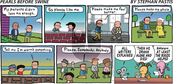 Pearls Before Swine on Sunday March 10, 2019 Comic Strip