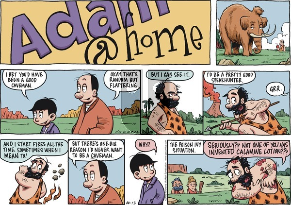 Adam@Home on Sunday October 13, 2019 Comic Strip