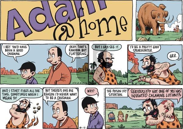 Adam@Home - Sunday October 13, 2019 Comic Strip