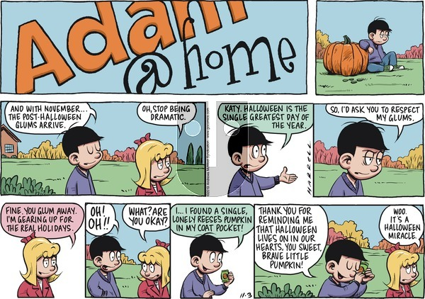Adam@Home on Sunday November 3, 2019 Comic Strip