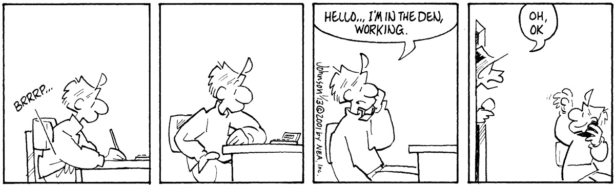 Arlo and Janis for Jan 13, 2001 Comic Strip